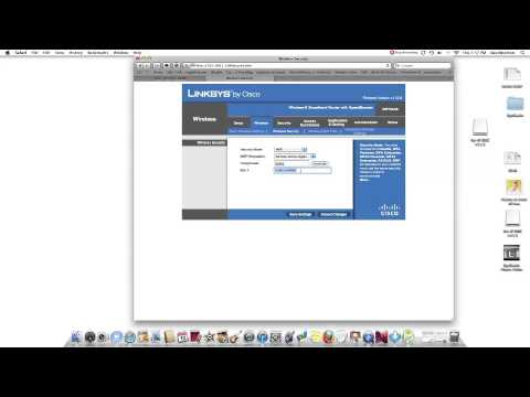 How To Find The WEP Key on a Linksys Router