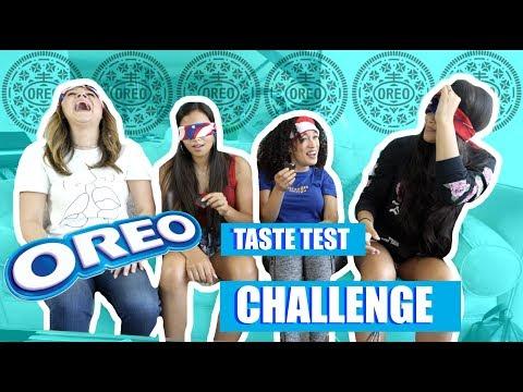 Blindfolded OREO Taste Test CHALLENGE!!! W/ Franny Arrieta + NEZZA