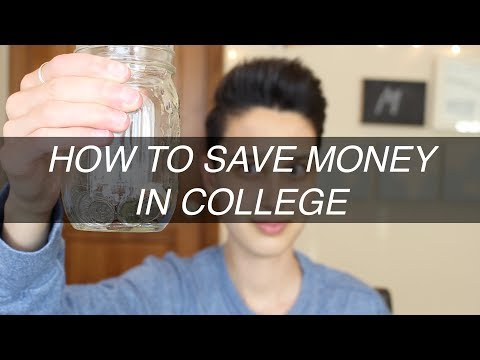 FRESHMAN ADVICE PART 6: HOW TO SAVE MONEY IN COLLEGE