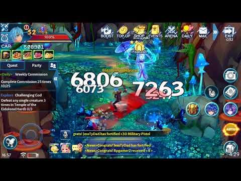 Aura Kingdom Mobile: Como subir de nível o mais rapido possivel!