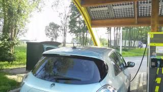 Renault Zoe snelladen op 43kW AC bij Fastned! ☺