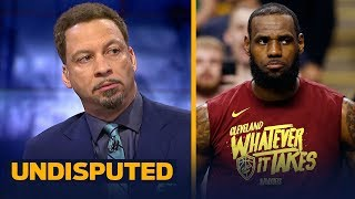 Chris Broussard reveals the key to the Celtics taking 2-0 lead over LeBron