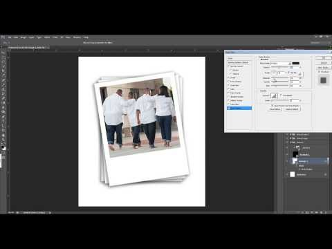 Making a Stack of  Polaroid Photos in Photoshop CS6