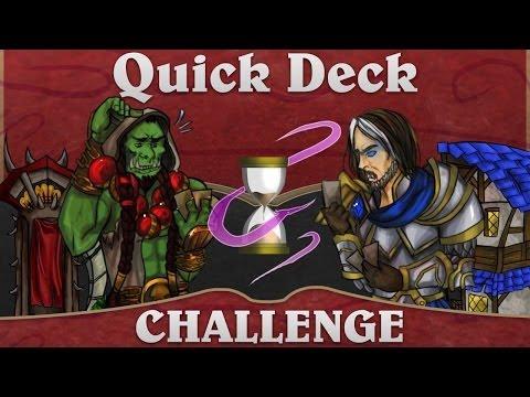 Hearthstone Quick Deck Challenge: Yarr Ye Landlubbers!