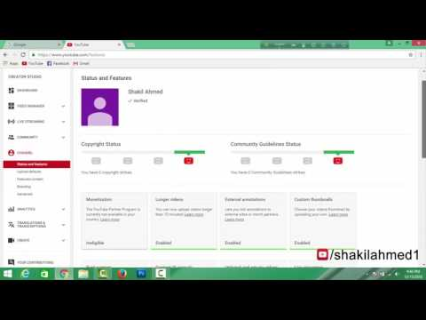 How to create Google AdSense account for youtube channel   Full bangla tutorial  HD