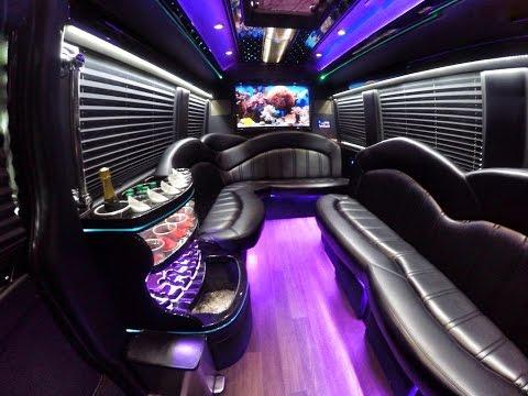 Charleston Party Bus   Mercedes Executive Limo Bus