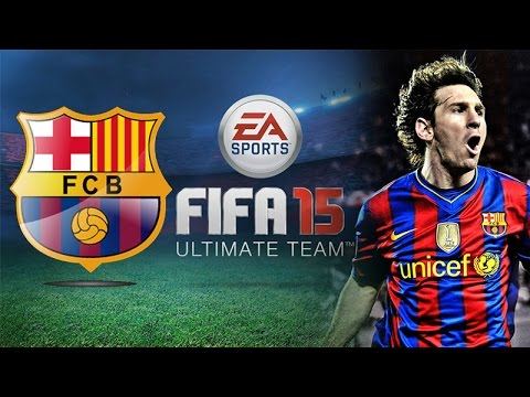 FIFA 15 Ultimate Team FC BARCELONA Match Gameplay [Best Android Games]]