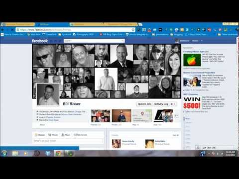 Facebook Timeline Screencast - Friends and Photo Privacy
