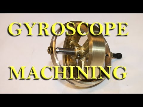 Machining a Gyroscope on a Grizzly G4000 Lathe