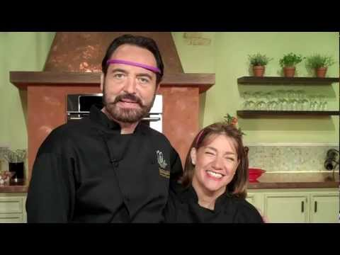 Nick Stellino and master chef Gale Gand