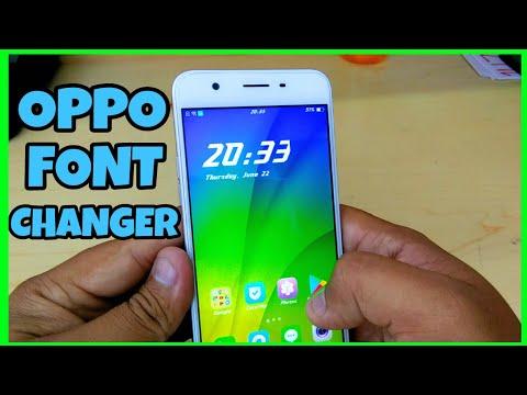 Oppo Font Changer | Change Fonts in Oppo Phones