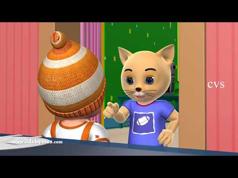 Johny Johny Yes Papa Nursery Rhyme - 3D Animation English Rhymes & Songs for Children