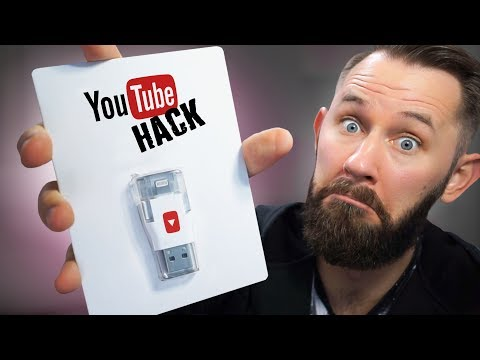 YouTube iPhone Hack! | 10 Ridiculous Tech Gadgets