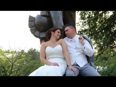 Josh & Kelli's MSU Wedding Trailer