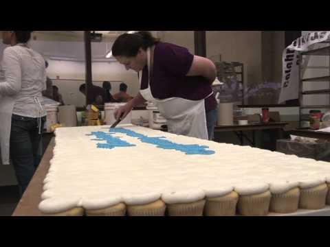 Celebrating Special Olympics through Cake