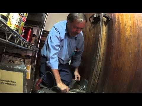 Walk in Cooler wood door dragging (part 2)