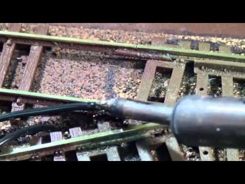 How to wire a model train layout fast and easy