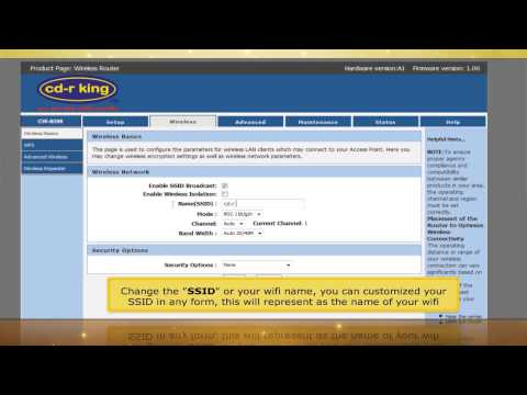 150mbps Wireless-N AP Router (WR-NET-052-CC) Windows 7
