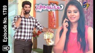 Swathi Chinukulu | 27th  May 2019 | Full Episode No 1789 | ETV Telugu