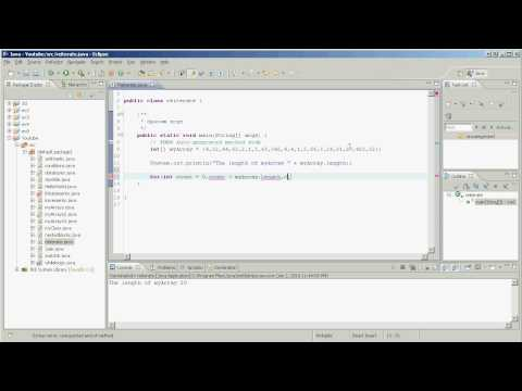 Java - Reiterating Through an Array Using a for Loop