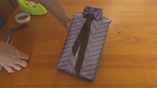 Shirt style wrapping