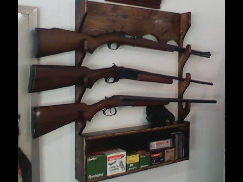 Gun Rack from a 2x4
