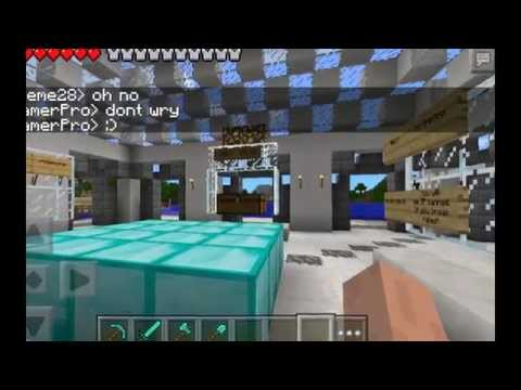 Pandatopia - Minecraft: Pocket Edition Server - Early Beginigs Of The Map Reset