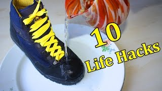 10 LIFE HACKS that will change your life | MrGear