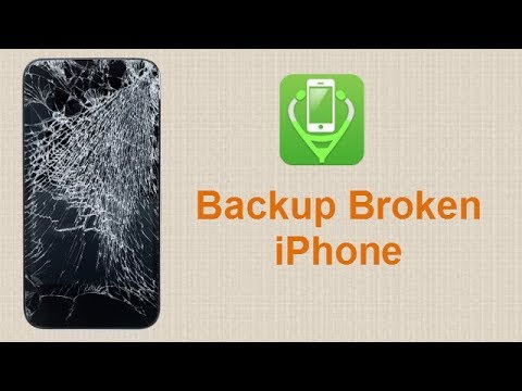 Backup Broken/Black Screen iPhone 8/X/7/6/6S/5S without iTunes/iCloud