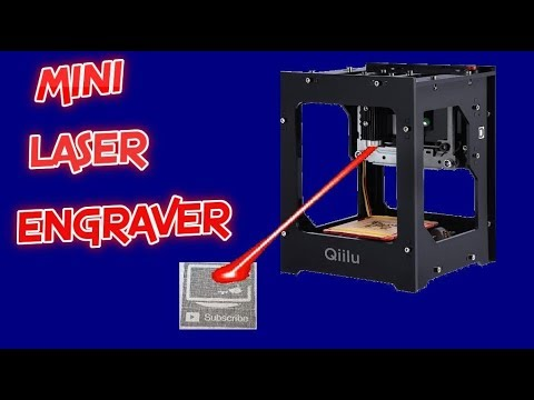 Qiilu 1500mw Mini Laser Engraver | Bluetooth, 6000 mAh Battery | PC, IOS, Android | Complete Setup