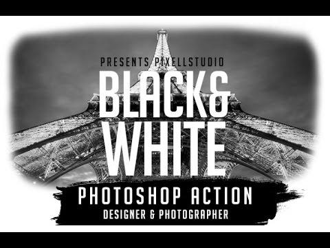 Black&White Action For Designer & Photographer