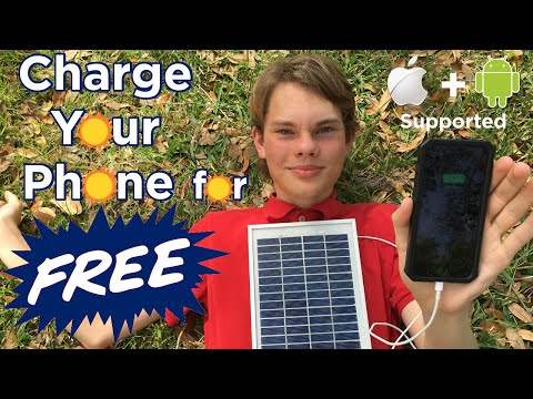 Ben Builds: Charge your Phone for FREE | DIY Solar Panel Phone Charger