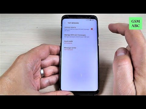 How to Disable SMS Delivery Reports on Samsung Galaxy S8, S8+ and NOTE 8