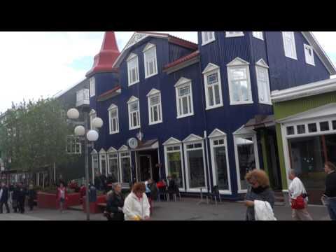 Akureyri's Small City Centre, Iceland - 00068 Iceland