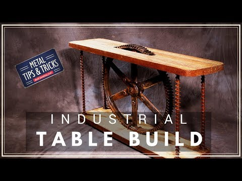 How to make a table using a  gear