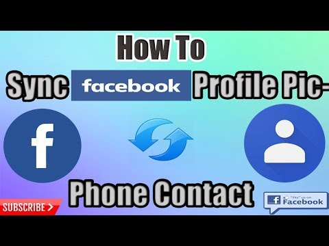 How To Sync Facebook Friends Profile Picture To Phone Contact in Android [2018] (Hindi)