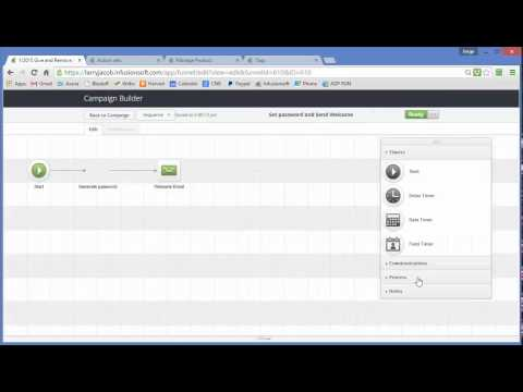 Memberium Lesson:  How to Build an Infusionsoft Access Administration Campaign
