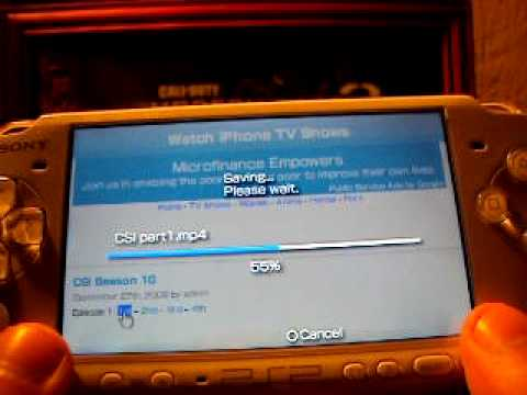 how to get free MP4 movies and tv shows on your psp by butterbean