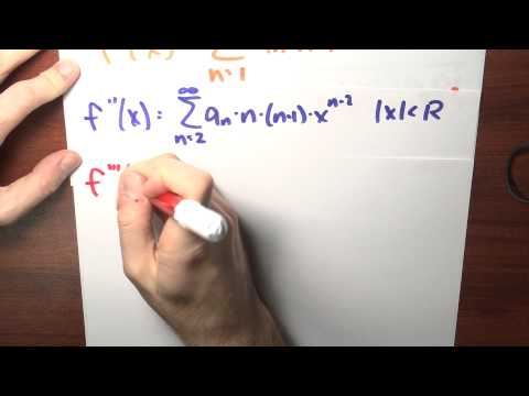 What is the Taylor series of f around zero? - Week 6 - Lecture 2 - Sequences and Series