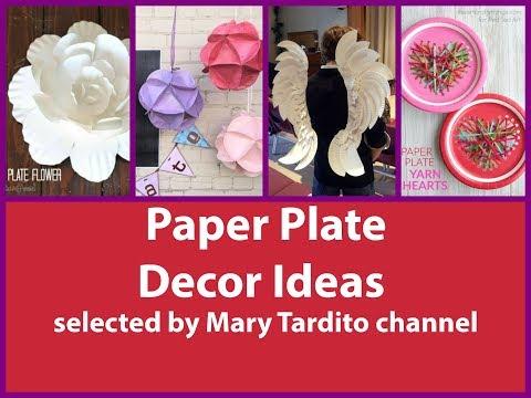 DIY Paper Plate Decor Ideas - Paper Plate Crafts Inspo