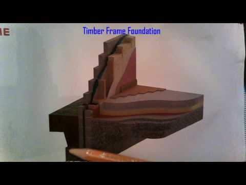 Timber Frame Foundation Detail
