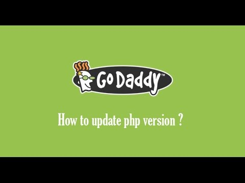 How to update PHP version in Godaddy?