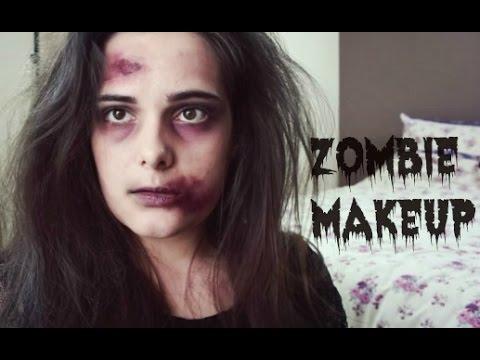 Easy Zombie Halloween Makeup Tutorial | SFX FREE