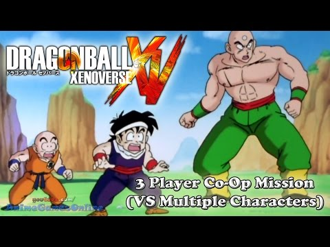 Dragon Ball Xenoverse 3 Player Co-Op Parallel Quest Mission (VS Multiple Characters)