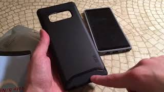 Tudia Samsung Galaxy Note8 Case Collection BiG Unboxing and Review