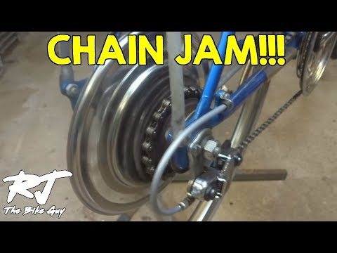 What Happens When Chain Jams on Shimano Front Freewheel System/FFS?