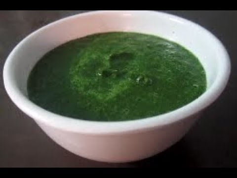 How To Make Green Chutney(Tasty Hari Chutney)