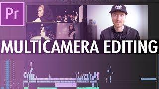 Multi Camera Editing in Premiere CC 2020 - FAST