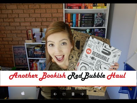 Another Bookish Red Bubble Haul