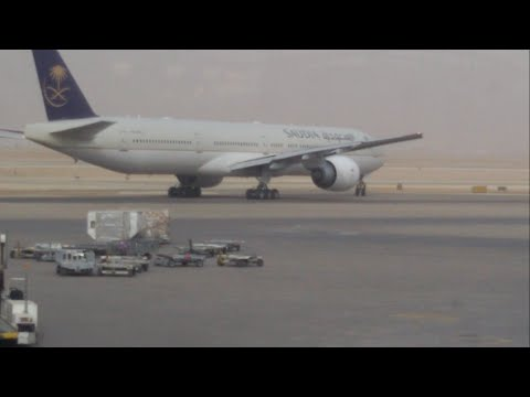 *200 SUBSCRIBERS SPECIAL* Plane spotting at KKIA in Riyadh